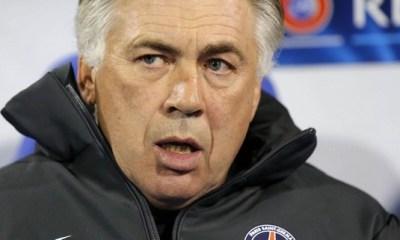 Ancelotti : « Je n'ai pas crié à la mi-temps »