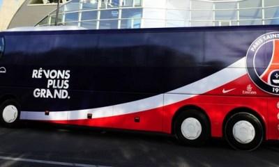 Quand le bus du PSG oublie le médecin !