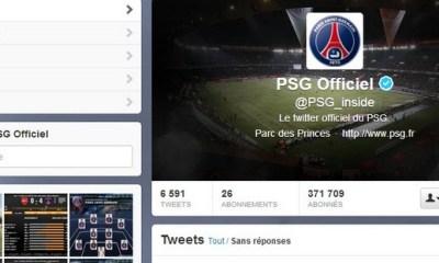 Le PSG, N°1 du sport sur Twitter