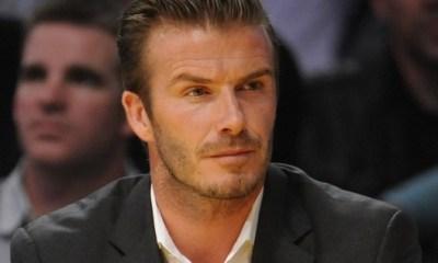 Photos : La présentation de David Beckham