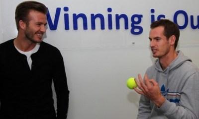 Andy Murray ne s'inquiète pas pour Beckham