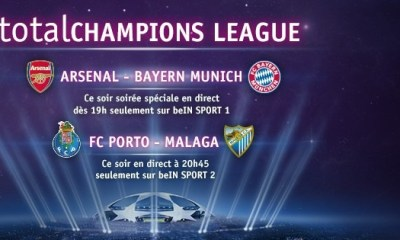 C1 : Arsenal-Bayern et Porto-Malaga au programme