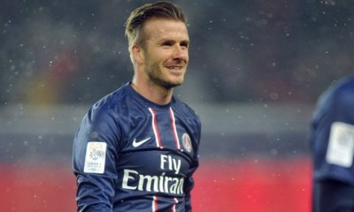 Beckham et « sa soirée spéciale » au PSG