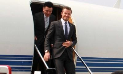 Beckham : « Ca me démange de chausser les crampons »