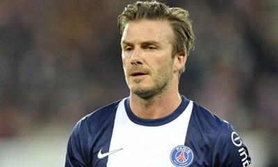 Beckham : « Je veux continuer à faire partie du PSG »