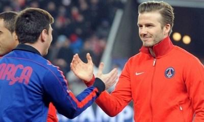 Beckham : « Quand j'ai vu Messi me doubler...»
