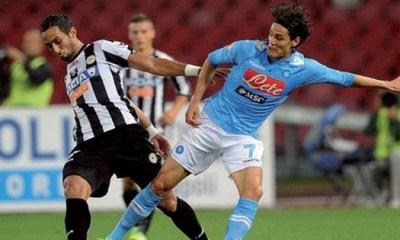 Cavani a laissé des traces en Serie A