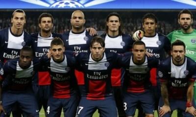 PSG - Anderlecht : les compos officielles