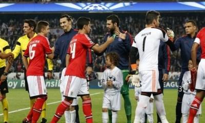 Benfica - PSG : la feuille de match