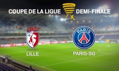 Live – Lille / PSG (0-1), Demi-finale de la Coupe de la ligue en direct
