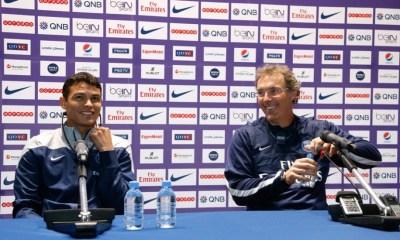 Laurent Blanc et Thiago Silva en conférence de presse à 17h45, le live.