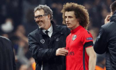 """PSG - David Luiz dédie son but à L. Blanc car il l'a """"mérité"""""""