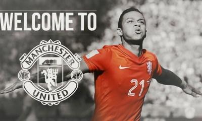 Memphis Depay mercato Manchester United
