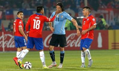 Oscar Tabarez ne veut pas parler de l'affaire entre Cavani et Jara