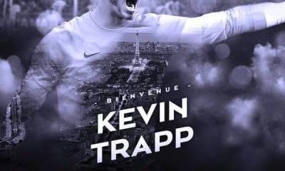Mercato - Kevin Trapp s'engage au PSG, c'est officiel!