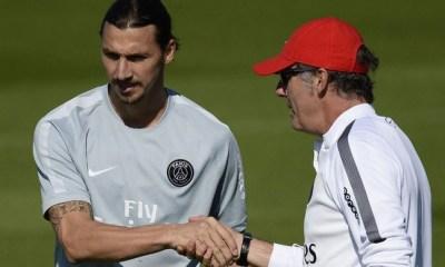 """Blanc """"aucune inquiétude"""" pour Zlatan Ibrahimovic, qui ne jouera pas contre Bordeaux afin d'être """"en pleine forme contre Malmö"""""""