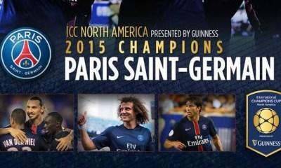 Eté 2016: Le PSG participera de nouveau à l'International Champions Cup, cette fois en Californie
