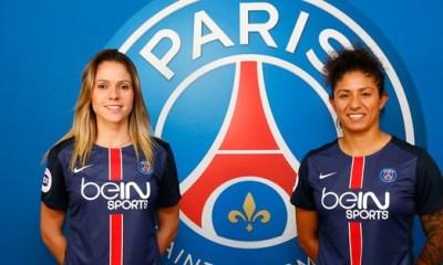 Féminines - Deux nouvelles joueuses brésiliennes au PSG