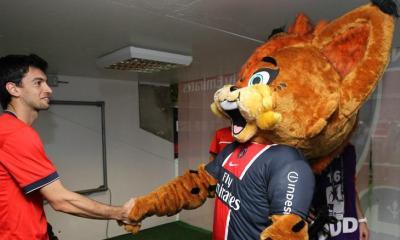 Germain le Lynx évoque le rêve de côtoyer les stars de son club préféré