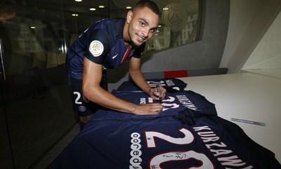 Ligue 1 - ASM PSG, Kurzawa a son maillot dans le vestiaire même s'il ne joue pas