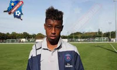 PSG - Presnel Kimpembe en Équipe de France Espoirs