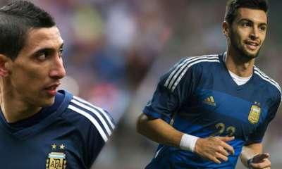 Internationaux – Pastore, Lavezzi et Di Maria convoqués pour les éliminatoires de la Coupe du monde 2018.