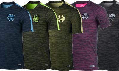 Les nouveaux maillots d'échauffement de la LDC dévoilés pour le PSG