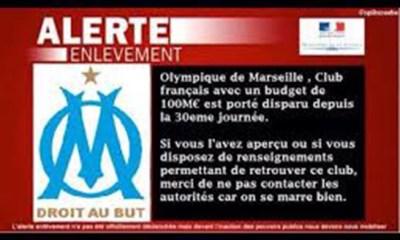 L'OM kidnappé, les supporters parisiens s'amusent
