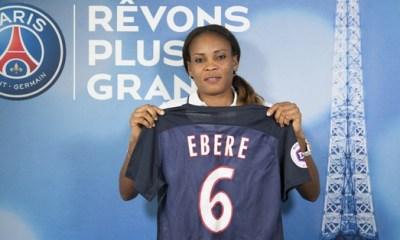 Féminines - Ngozi Ebere s'engage avec le PSG