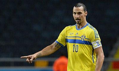 Ibrahimovic laissé au repos contre la Turquie, mais il jouera contre les Tchèques le 29