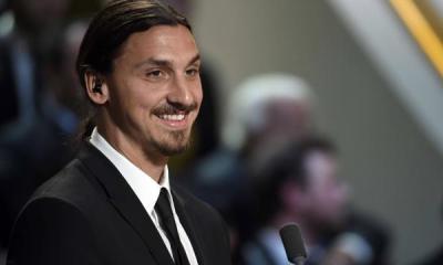 """Ibrahimovic """"citoyen d'honneur de la ville de Malmö"""""""