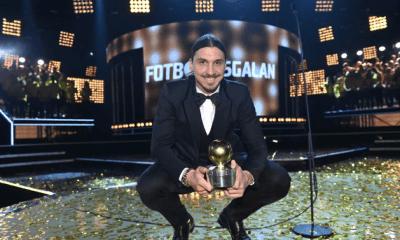 Nouveau trophée pour Zlatan Ibrahimovic : le Guldbollen 2015
