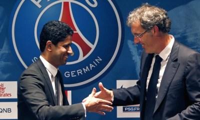 """La Ligue des Champions, """"notre grand rêve"""" pour Nasser Al-Khelaïfi, """"un jour le PSG la gagnera"""" pour Laurent Blanc"""