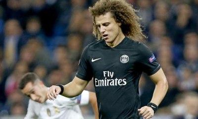 PSG/City – Un nouveau record pour David Luiz en LDC (dont il se passerait bien)