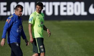 Dunga ne ferme pas la porte à Thiago Silva pour la sélection brésilienne