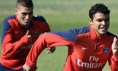 Thiago Silva et Verratti font partie de l'Equipe de 2015 choisie par Zanetti