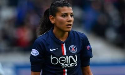 Féminines - PSG / FCB : Kenza Dali « On ressent une pression positive »