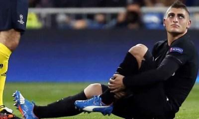 City / PSG - Verratti vers un forfait, même s'il y a mis tout son amour pour le club