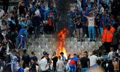 """CDF - Les Marseillais font brûler des sièges, des possibles """"sanctions individuelles voire collectives"""""""