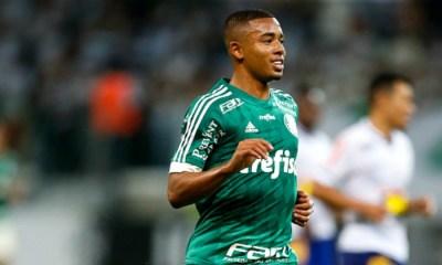 """Gabriel Jesus """"Je vais m'exprimer au maximum avec Palmeiras et je ferai tout mon possible pour rester"""""""