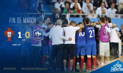 Euro 2016 - La France s'incline en finale face au Portugal après prolongations