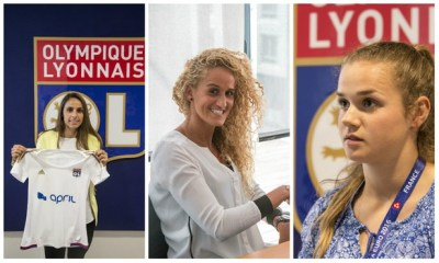 Féminines - L'OL annonce l'arrivée de 4 joueuses du PSG