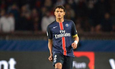 """Le PSG a """"la volonté de blinder Thiago Silva avec un contrat jusqu'en 2020"""", selon TWM"""