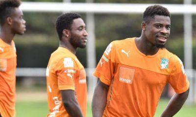 Aurier sélectionné pour les matchs de qualification de la CAN 2017