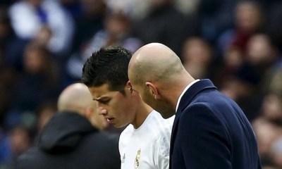 Mercato - James Rodriguez poussé vers la sortie par Zidane, difficile pour le PSG d'en profiter