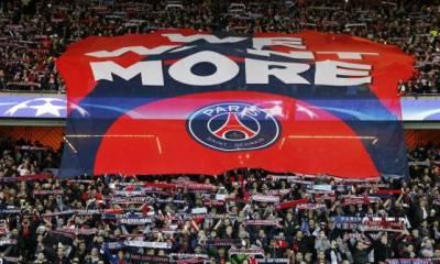 Les Ultras parisiens présents au Stade Louis II