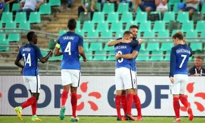 L'Equipe de France bat l'Italie avec Kurzawa buteur et passeur