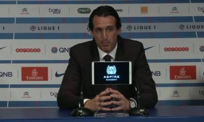 PSG/Dijon - Emery «c'est important que l'équipe soit solide»