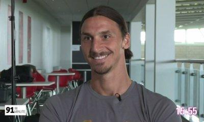 Anciens - Zlatan Ibrahimovic va retrouver l'AS Saint-Etienne en Ligue Europa