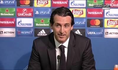 """LUDOGORETS/PSG - Unai Emery: """" L'équipe a fait un bon match """""""